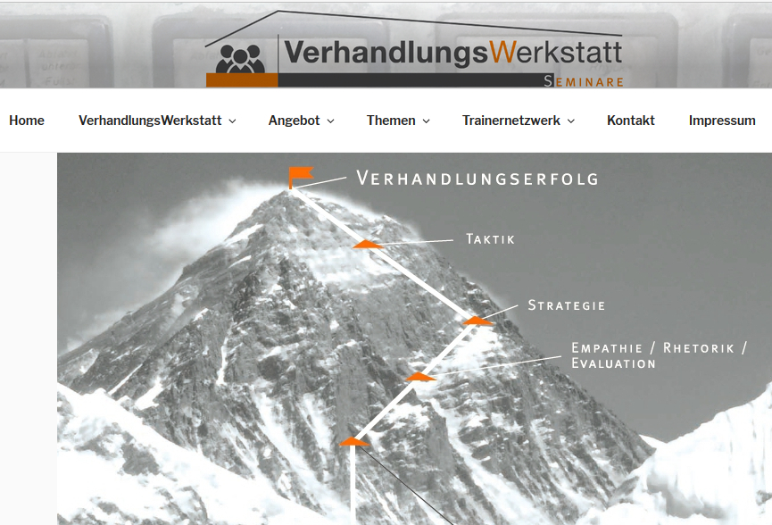 Relaunch of the VerhandlungsWerkstatt